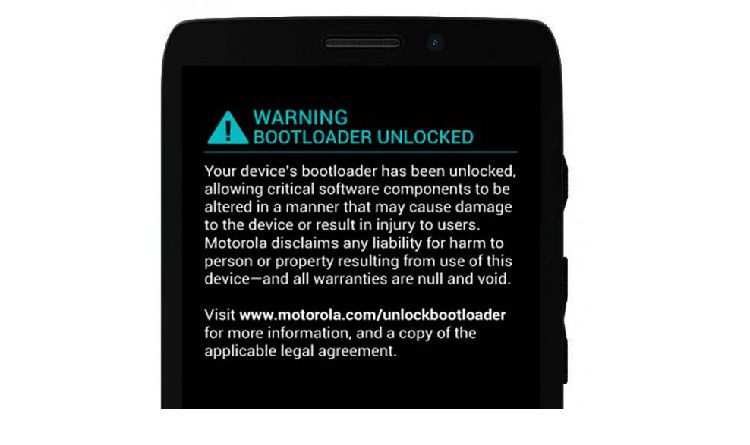 fix Bootloader Unlocked warning on Moto Maxx XT1225 Android smartphone
