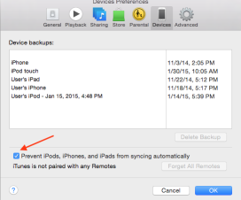 How to Stop iTunes Auto Syncing for iPhone, iPad or iPod Touch