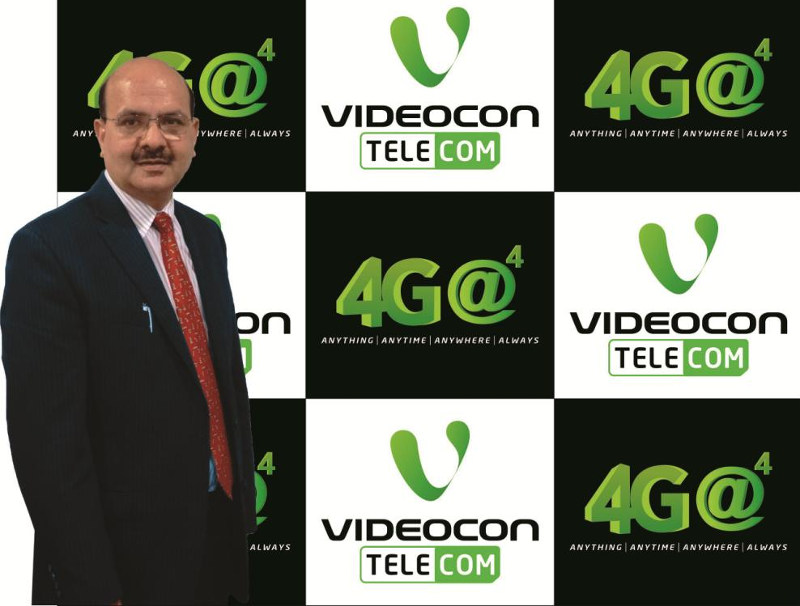 Videocon Telecom 4G LTE FDD Services in India