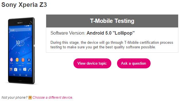 Xperia-Z3-T-Mobile-Testing