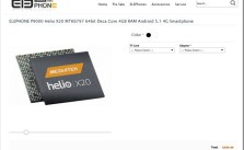 Elephone-P9000 Deca-Core-process