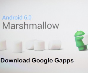Google Gapps for Android 6.0 marshmallow Custom ROMs