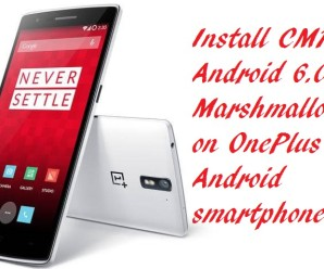 Install-CM13-Android-6.0-Marshmallow-On-OnePlus-One