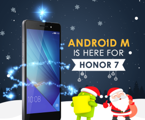 Honor 7 Android 6.0 Marshmallow OS update