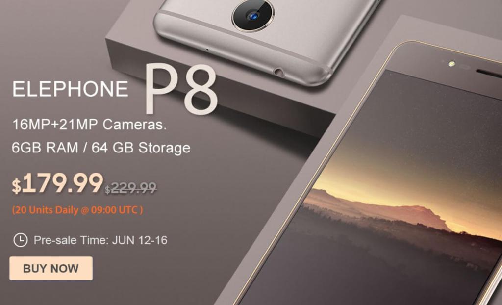 Elephone S8 slae